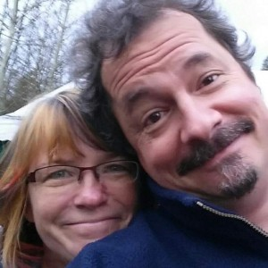 Me and Tom, six years after getting unmarried and still going strong!
