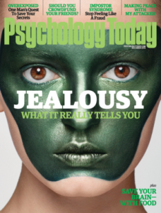 "Psychology Today cover Nov. 2016: ""Jealousy: What it Really Tells You."""